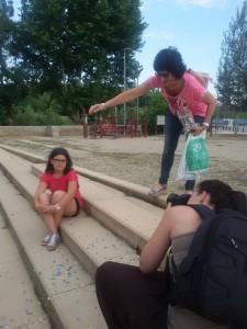 Making of Vanessa i Rosalba