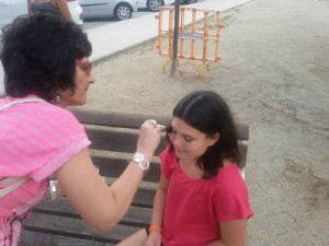 Making of Rosalba i Vanessa