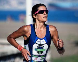 Protecció solar dona runner